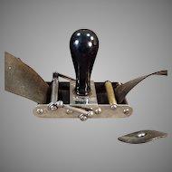 Vintage Rundel Automatic Wedge Razor Blade Sharpener Stropper