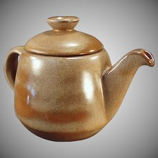 Vintage Frankoma Pottery - Large 6T Westwind Covered Teapot