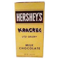 Vintage Hershey's Milk Chocolate Krackel Candy Bar Box