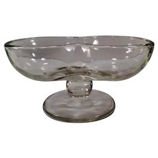 Vintage Soda Fountain Glassware -Double Scoop Sundae Dish - 3 Available