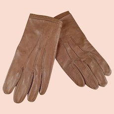 Very Small Vintage Leather Gloves for Child or Large Doll - Fownes of London