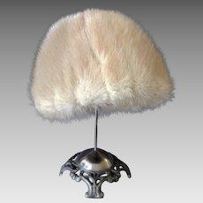 Vintage Mink Hat – Precious Furs by Marche – Lovely Color