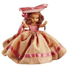 Vintage Nancy Ann #92 Autumn Storybook Doll - Hard Plastic with Original Box