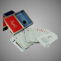 Vintage Double Deck Reddy Kilowatt Advertising Playing Cards