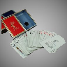 Vintage Double Deck Reddy Kilowatt Advertising Playing Cards