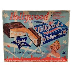 Vintage Hollywood Candy Bar Box – Colorful Graphics for Displaying
