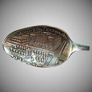 Vintage Sterling Silver Souvenir Spoon - U.S. Grant Hotel San Diego