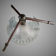Vintage Hubbard Lawn Sprinkle - Cast Metal Three Arm Lawn Sprinkler