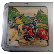 Vintage A.W. Faber Castell Metal Pencil Box - Old Advertising Tin