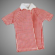 Vintage Doll Clothes - Striped Beach Jacket for Mattel's Ken Doll