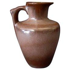 Vintage Frankoma Pottery Honey Jug 10 oz Pitcher – Brown Glaze