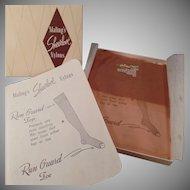 Vintage Nylon Stockings - Unused Maling's Sheerlove - Size 10 1/2