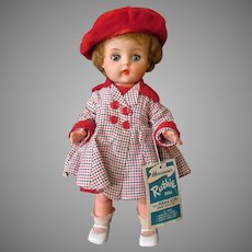 Vintage Horsman Ruthie Doll with Original Outfit & Hang Tag