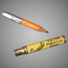 Vintage Advertising Bullet Pencil – Emrich's Furniture Indianapolis