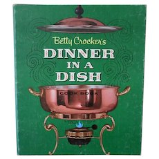 Vintage Betty Crocker Dinner in a Dish Recipes Cook Book – 1965 First Edition
