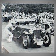 Vintage 1977 Pebble Beach Concours d'Elegance Program - Great Car Memorabilia