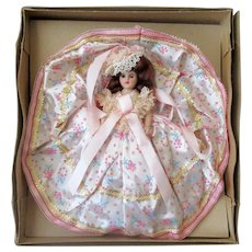 Vintage Dolls of All Nations –Bridesmaid Doll with Original Box – Pretty in Pink