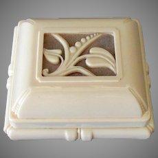 Decorative Vintage Bakelite Jewelry Display Box - Canterbury Wrist Watch Box