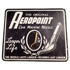 Vintage Phonograph Needle - Aeropoint Coin Machine Phonograph Needle