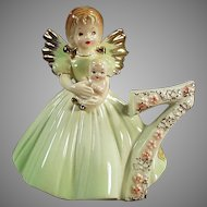 Vintage Josef Original #7  Age Seven Birthday Angel