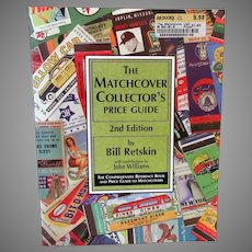 Old Matchcover Collector's Price Guide Reference Book - 2nd Edition - 1997 Paperback