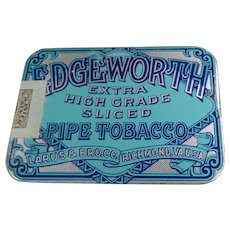 Vintage Edgeworth Sliced Pipe Tobacco - Very Nice Pocket Tin