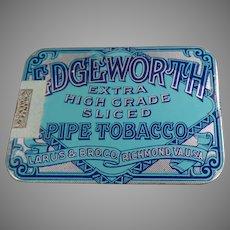Vintage Edgeworth Sliced Pipe Tobacco - Very Nice Pocket Tin