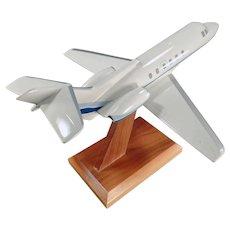 Vintage Executive Desk Airplane Model - Raytheon Hawker 700 Jet - Micro West