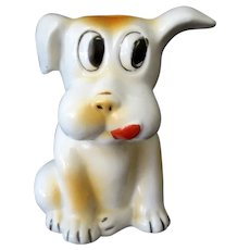 Vintage Dog Toothbrush Holder – Funny Expression – Made in Japan