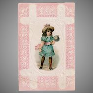 Vintage Advertising Trade Card from the Woolson Spice Company - Lion Coffee