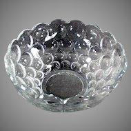 Vintage #1506 Heisey Glassware Provincial Pattern Serving Bowl
