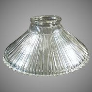 Single Vintage Light Fixture Shade - Franklin Reflector Style - Patent 1905