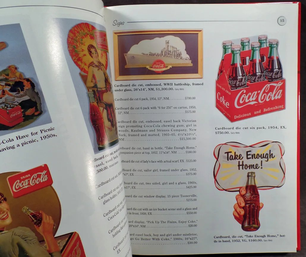 Reference Book - 1997 Coca-Cola Collectibles by B J  Summers
