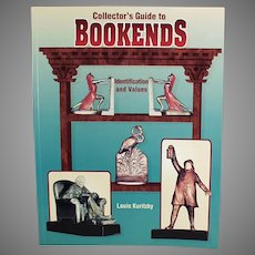 Reference Book - 1998 Collector's Guide to Bookends by Louis Kuritzky