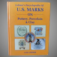Vintage 1988 Hardbound Reference Book – Lehner's Marks on Pottery, Porcelain & Clay
