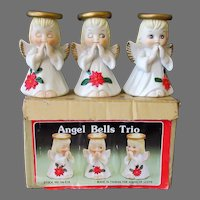 Set of Three Vintage Christmas Angel Bells with Original Box – House of Lloyd