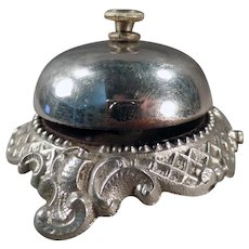 Ornate Vintage Store or Hotel Counter Bell  – Hear it on Facebook