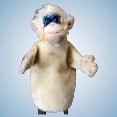 Vintage Steiff Mohair Mungo Monkey Hand Puppet - Late 1950's - 1960's