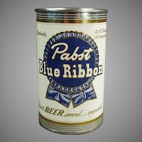 Vintage Tin Advertising Bank - Pabst Blue Ribbon Beer Can Promotional Bank