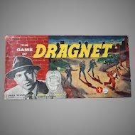 Vintage 1955 Transogram Dragnet Board Game - Complete Cops & Robbers Game