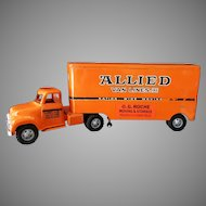 Vintage 1957 Tonka Allied Van Lines Semi-Truck - Very Nice Original Condition