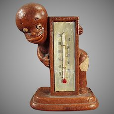 1949 Vintage Black Memorabilia - Multi-Products Black Boy with Thermometer