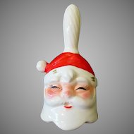 Vintage Santa Claus Christmas Bell – Inarco Japan – 1950s – 1960s