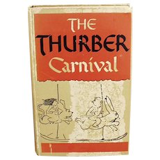 Vintage 1945 Hardbound Edition of Thurber Carnival by James Thurber