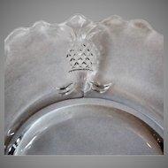 Vintage Heisey Glassware – #1567 Pattern Plantation Pineapples Salad Plate – 2 Available
