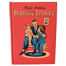 Child's Vintage Book – Uncle Arthur's Bedtime Stories – 1950's Volume One