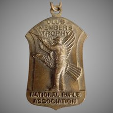 Vintage NRA National Rifle Association - 1965 Medal with Original Ribbon
