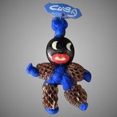 Vintage Black Memorabilia Souvenir Pin from Cuba – Fun & Funky Jewelry
