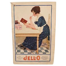 Vintage Jell-O Advertising Recipe Booklet - For Economy Use JellO