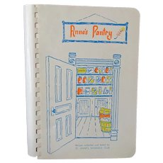 Vintage Anne's Pantry Cookbook – 1979 St. Anne's Woman's Club Recipe Book